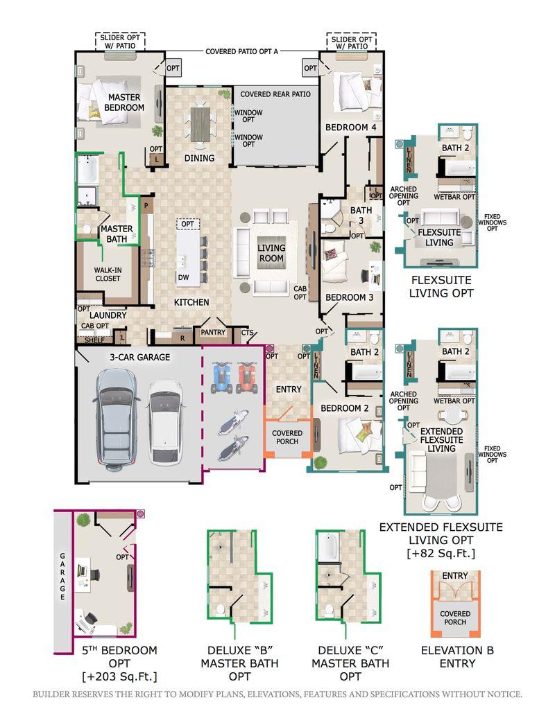 Shasta Floor Plan