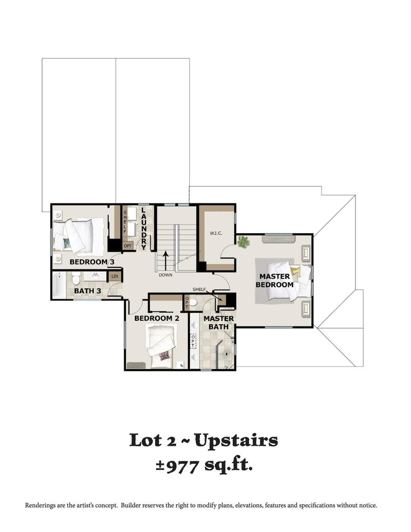 Lot 2 Upstairs
