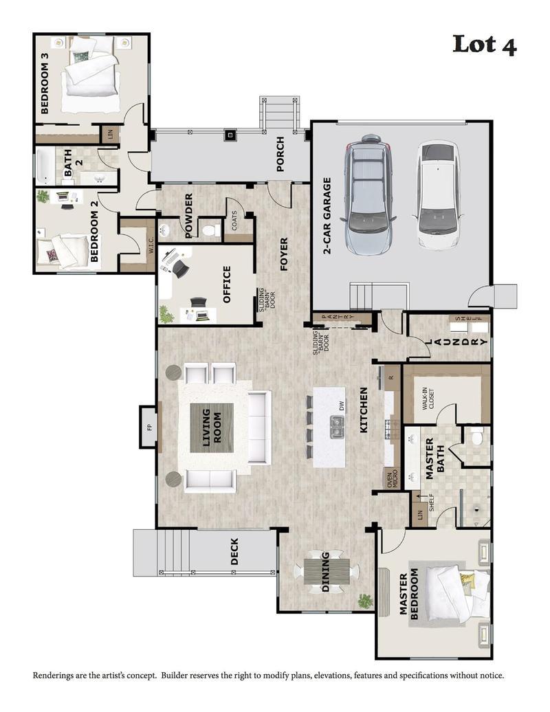 Lot 4 Floor Plan
