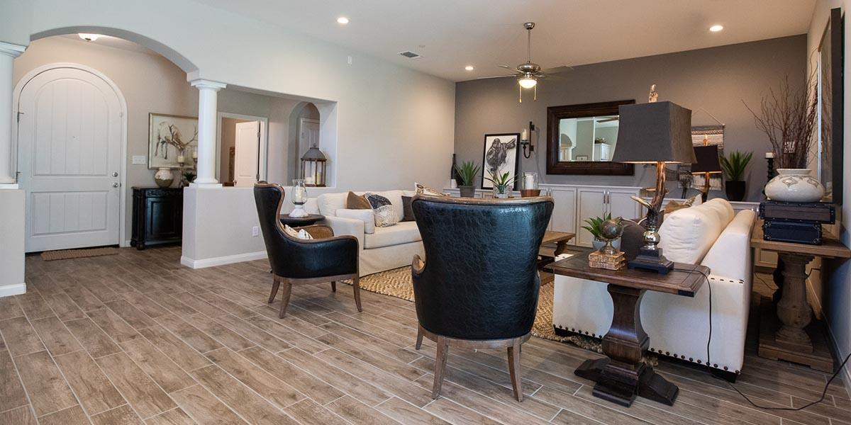 Living Area featured in the Sierra By S & S Homes in Bakersfield, CA