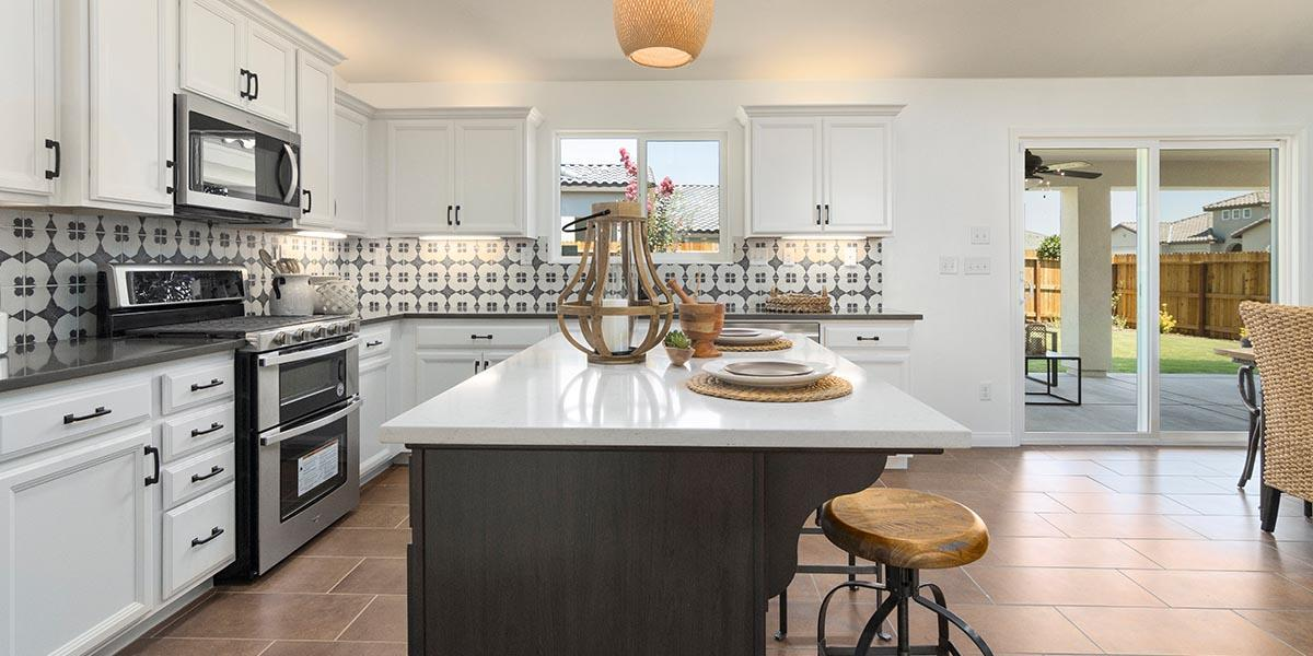 Kitchen featured in the Sedona By S & S Homes in Bakersfield, CA