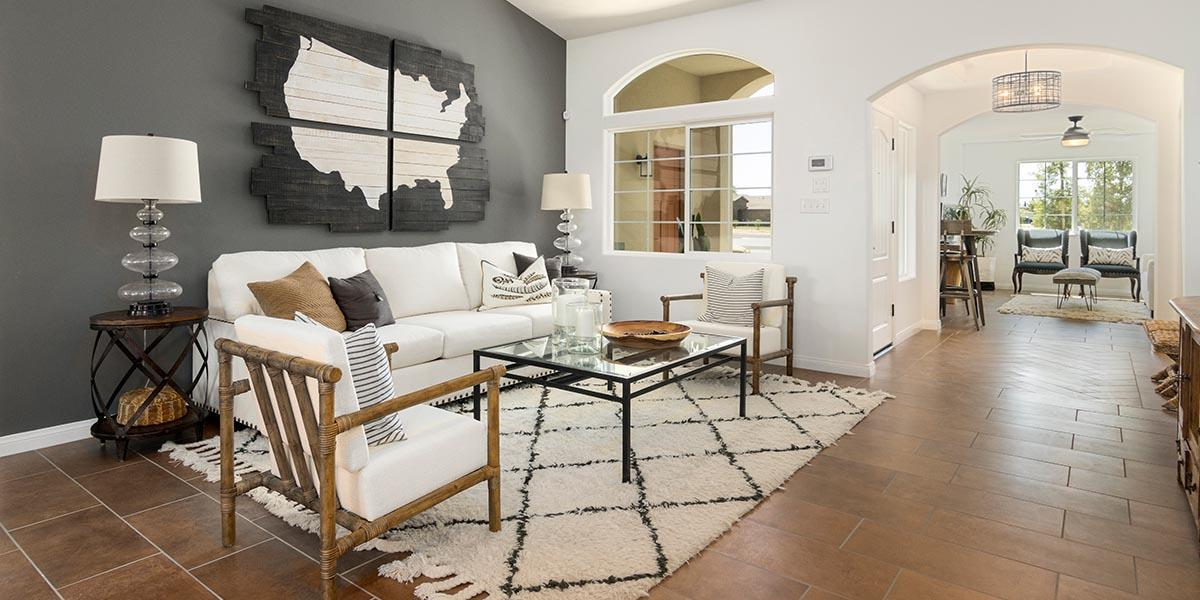 Living Area featured in the Sedona + Studio By S & S Homes in Bakersfield, CA