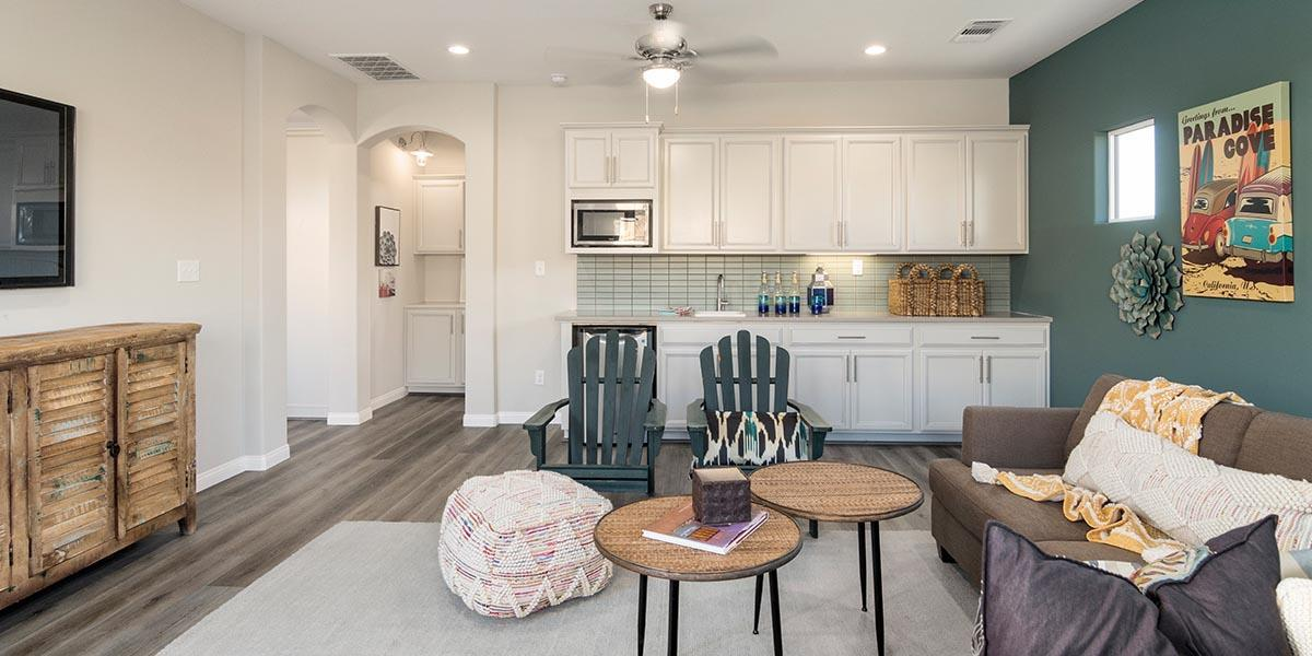Living Area featured in the Sonoma + 5th Bedroom By S & S Homes in Bakersfield, CA