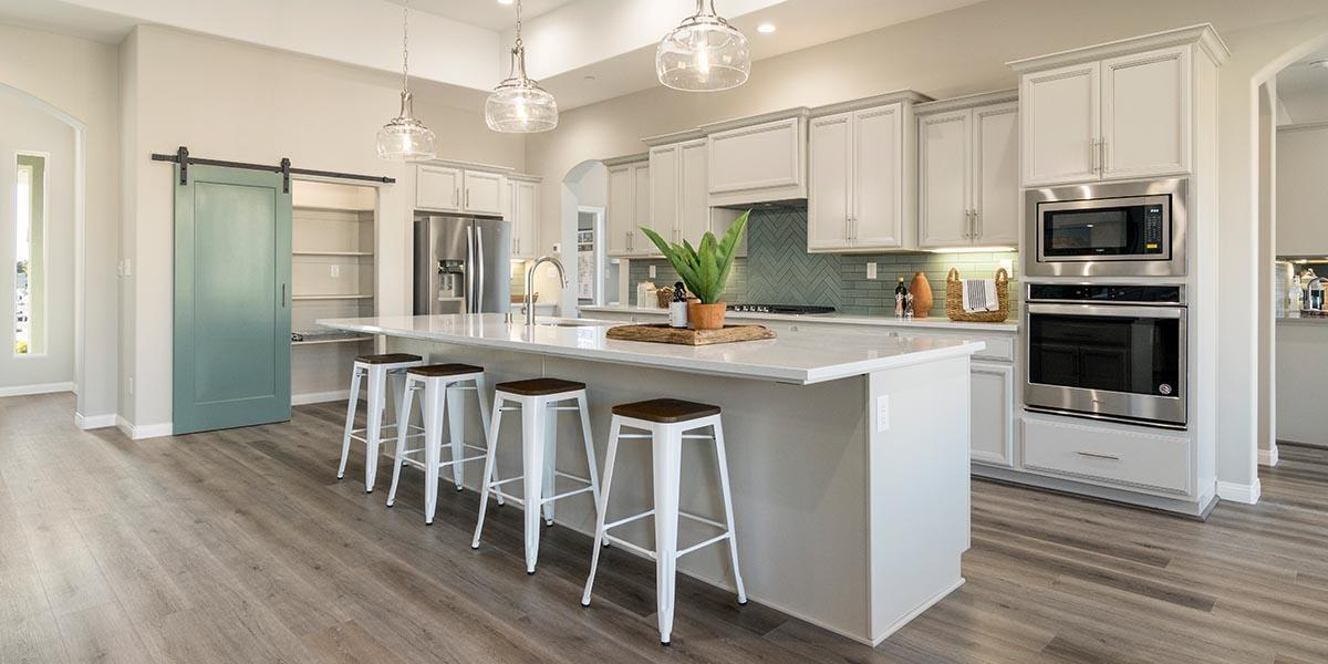 Kitchen featured in the Sonoma + 5th Bedroom By S & S Homes in Bakersfield, CA