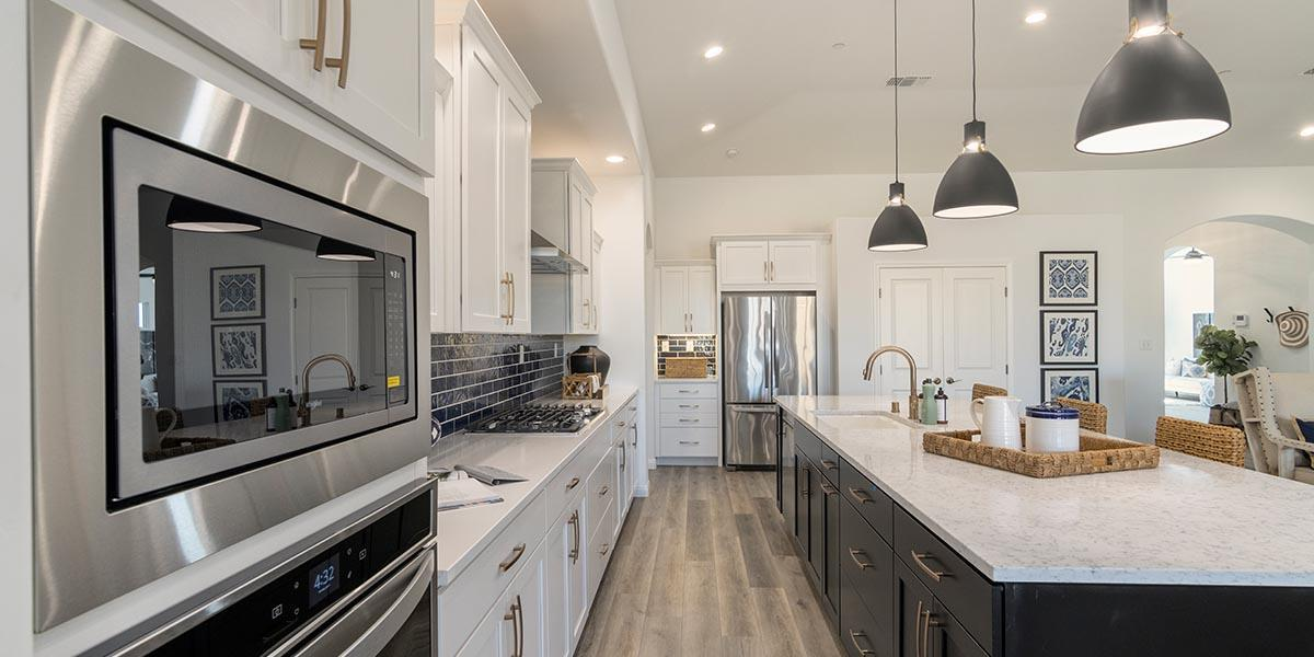Kitchen featured in the Shasta By S & S Homes in Bakersfield, CA