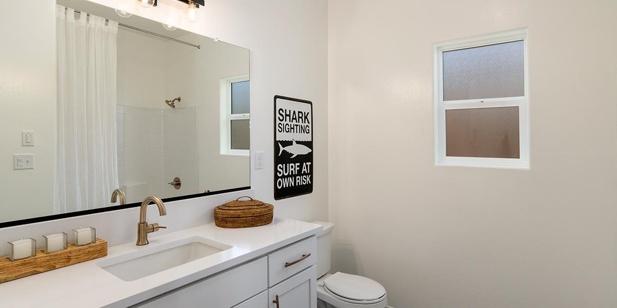 Bathroom featured in the Shasta + 5th Bedroom By S & S Homes in Bakersfield, CA
