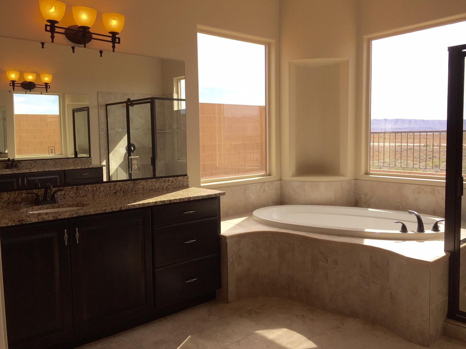 Bathroom featured in the 2550 WR By S & S Homes in St. George, UT