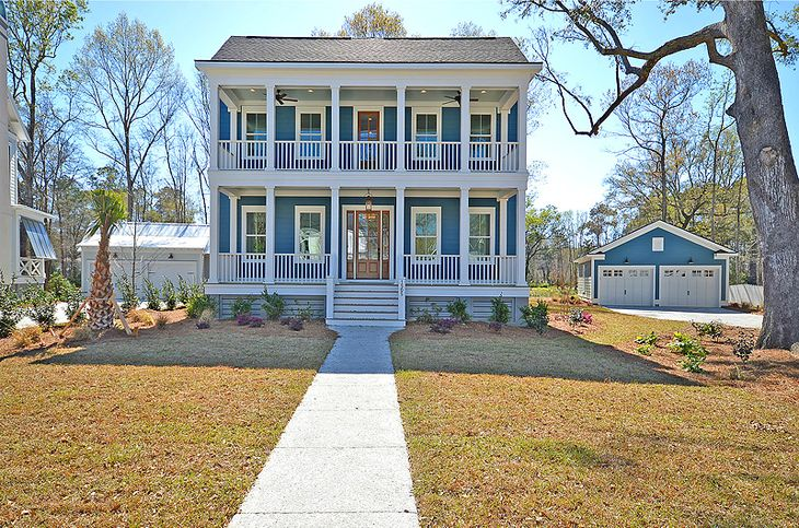 Radcliffe Lowcountry B Elevation