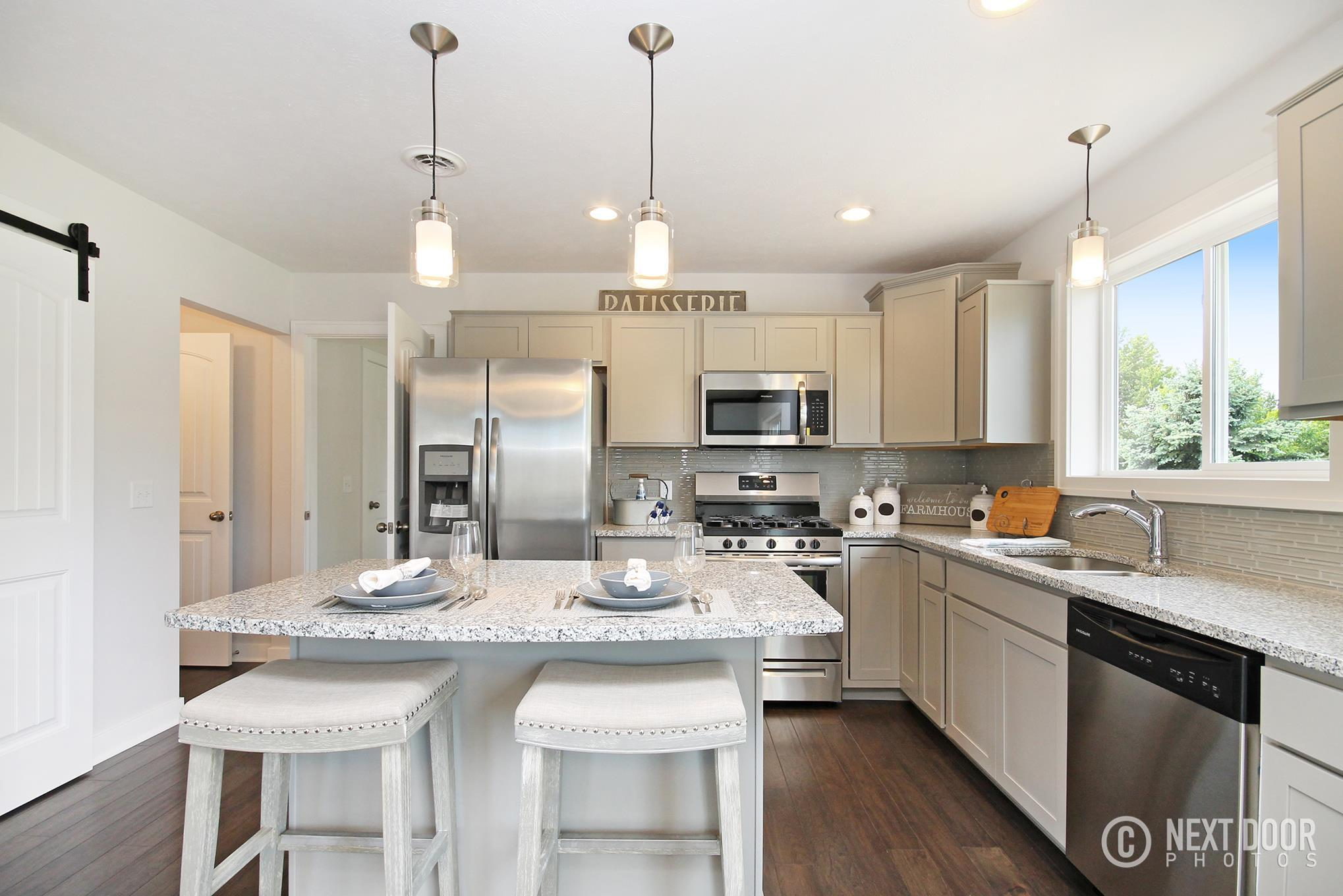 Kitchen featured in the Karolynn  By Sable Homes in Grand Rapids, MI
