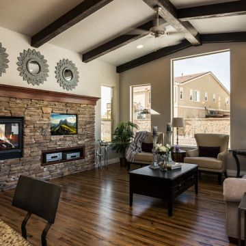 'The Sanctuary' by Saddletree Homes in Colorado Springs