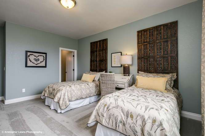 Bedroom featured in The Buena Vista II By Saddletree Homes in Colorado Springs, CO