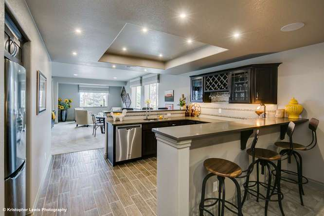 Kitchen featured in The Buena Vista II By Saddletree Homes in Colorado Springs, CO