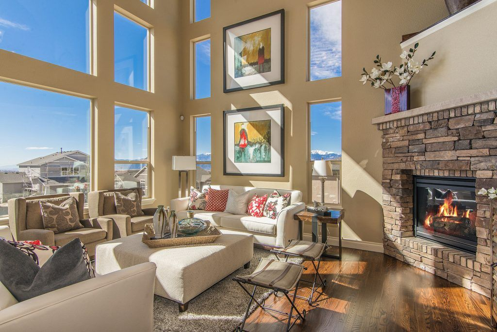 Living Area featured in The Steamboat By Saddletree Homes in Colorado Springs, CO