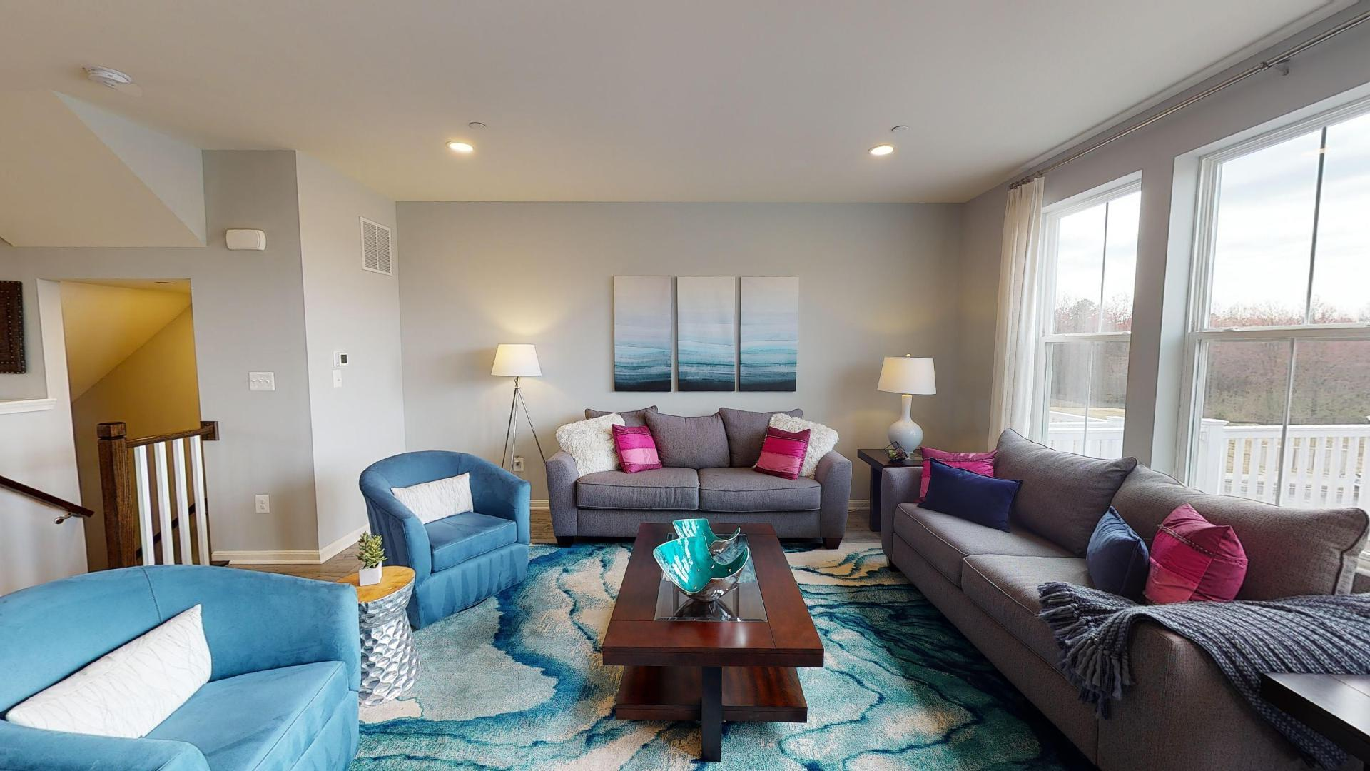 Living Area featured in the Abigail By Sage Homes in Baltimore, MD