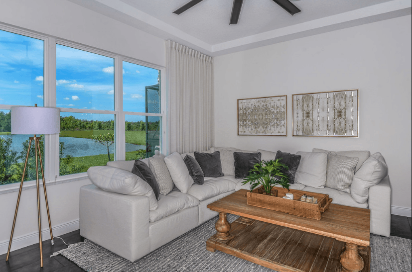 Living Area featured in The Savannah By Cardel Homes in Tampa-St. Petersburg, FL