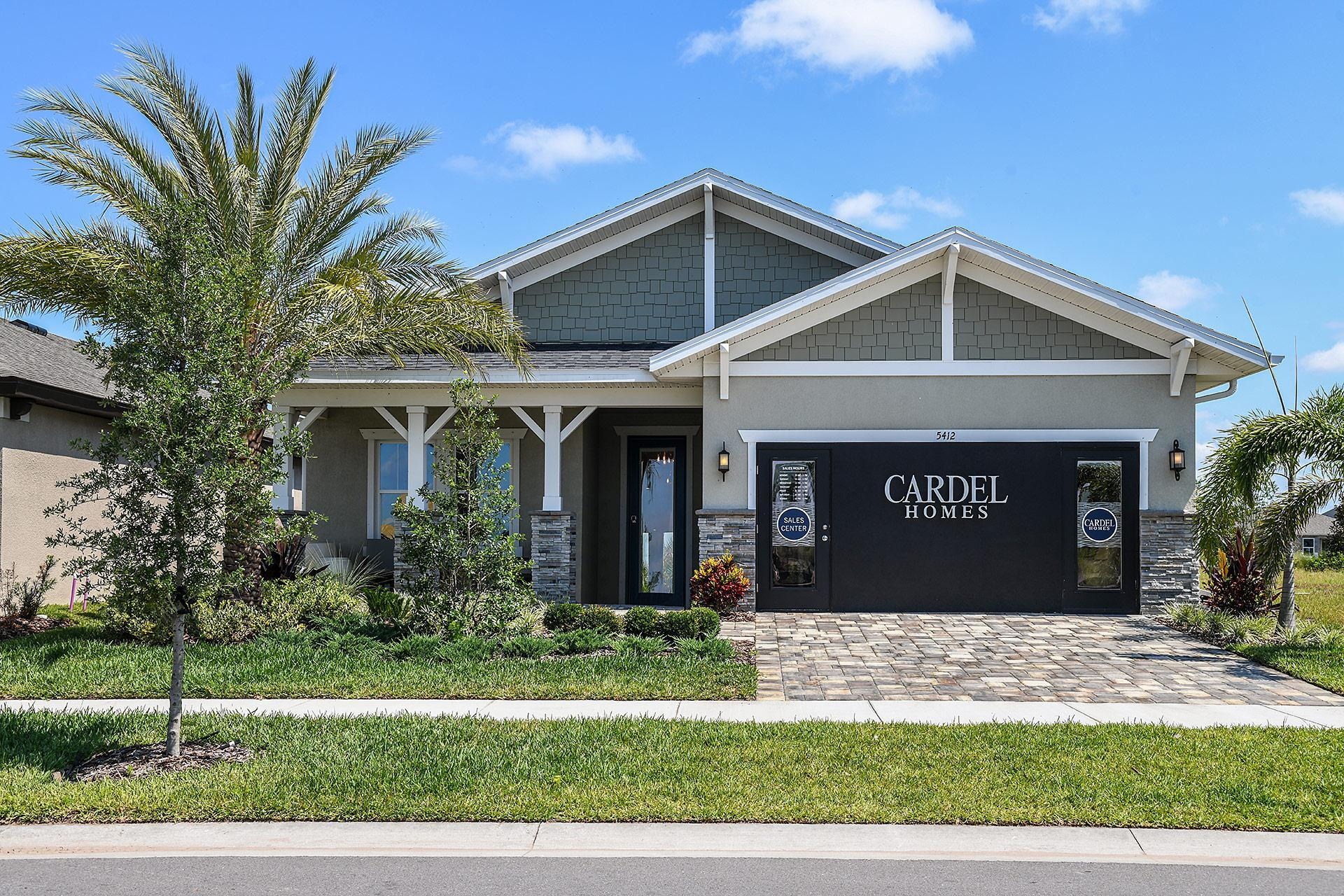 Exterior featured in The Brighton 2 By Cardel Homes in Tampa-St. Petersburg, FL