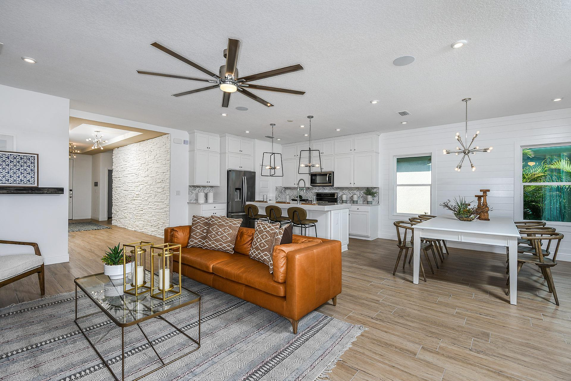 Living Area featured in The Brighton 2 By Cardel Homes in Tampa-St. Petersburg, FL