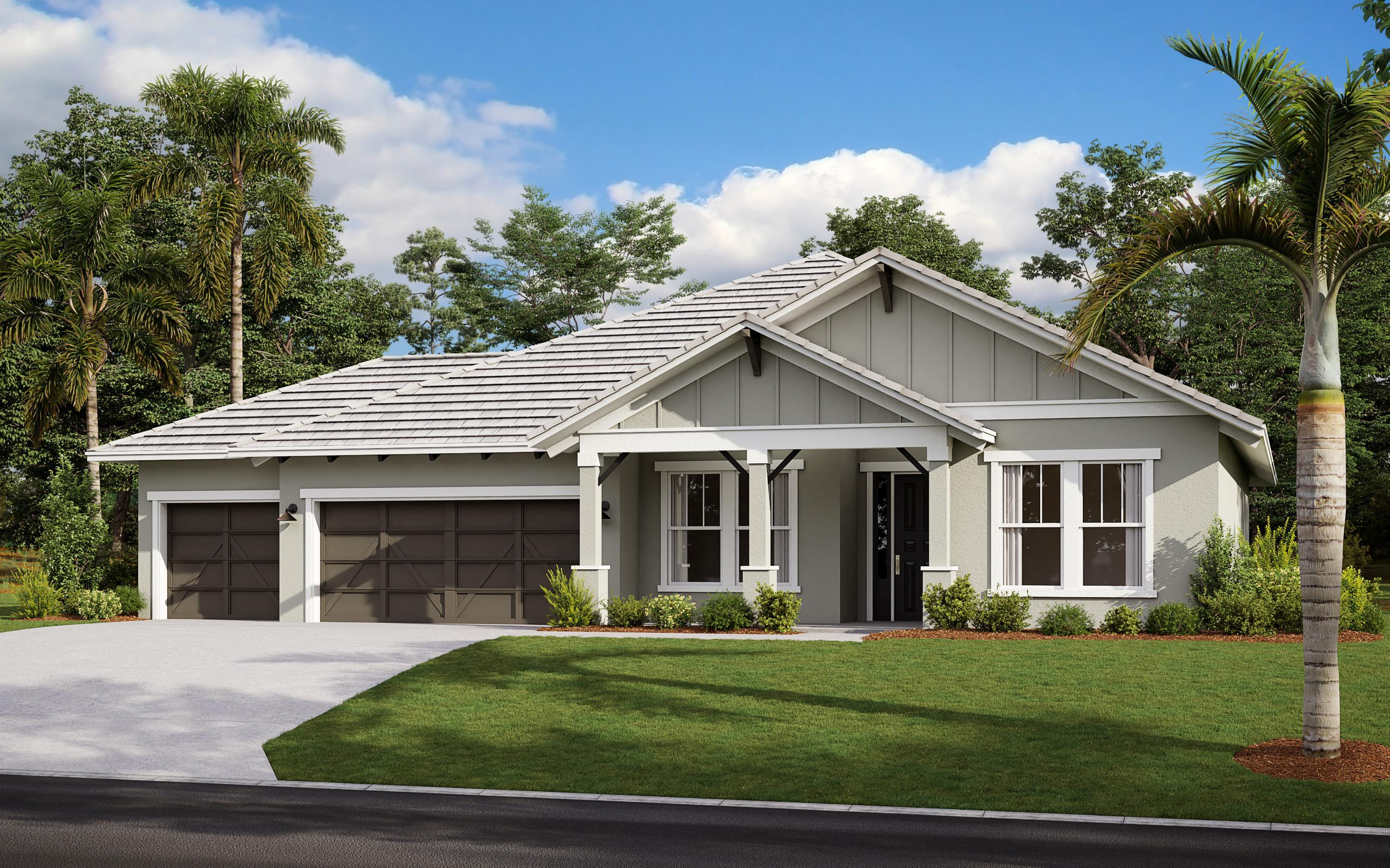 Exterior featured in The Barrett By Cardel Homes in Sarasota-Bradenton, FL