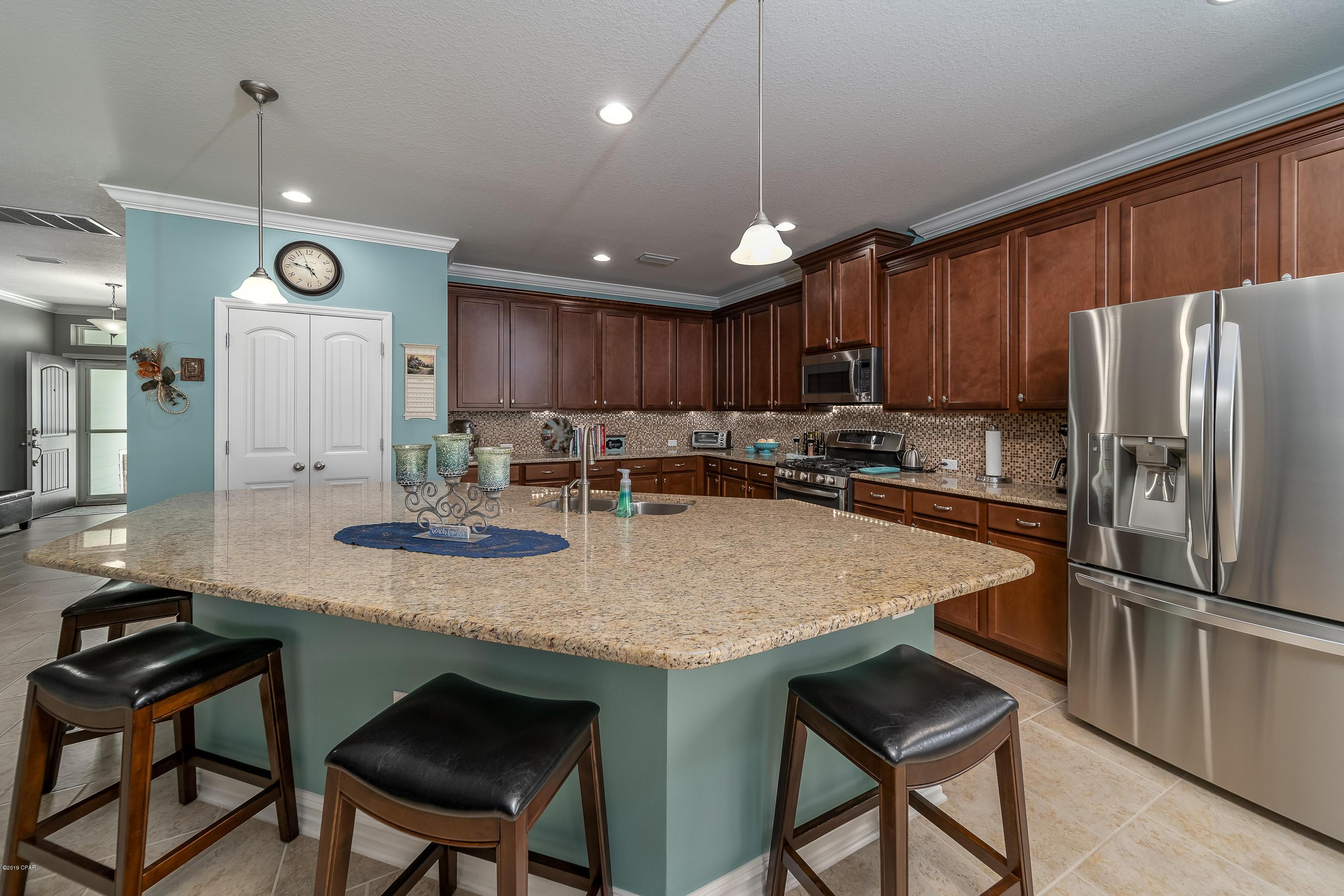 Kitchen-in-319 Johnson Bayou Drive-at-Breakfast Point - Gulf Series-in-Panama City Beach