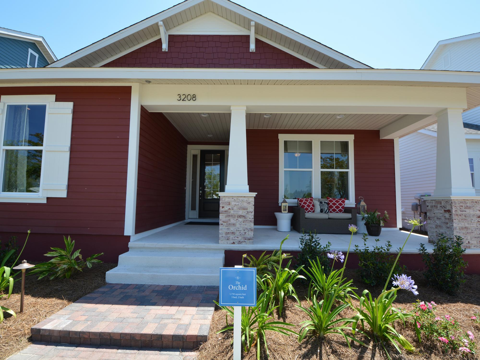 Exterior featured in the Orchid By Samuel Taylor Homes in Panama City, FL