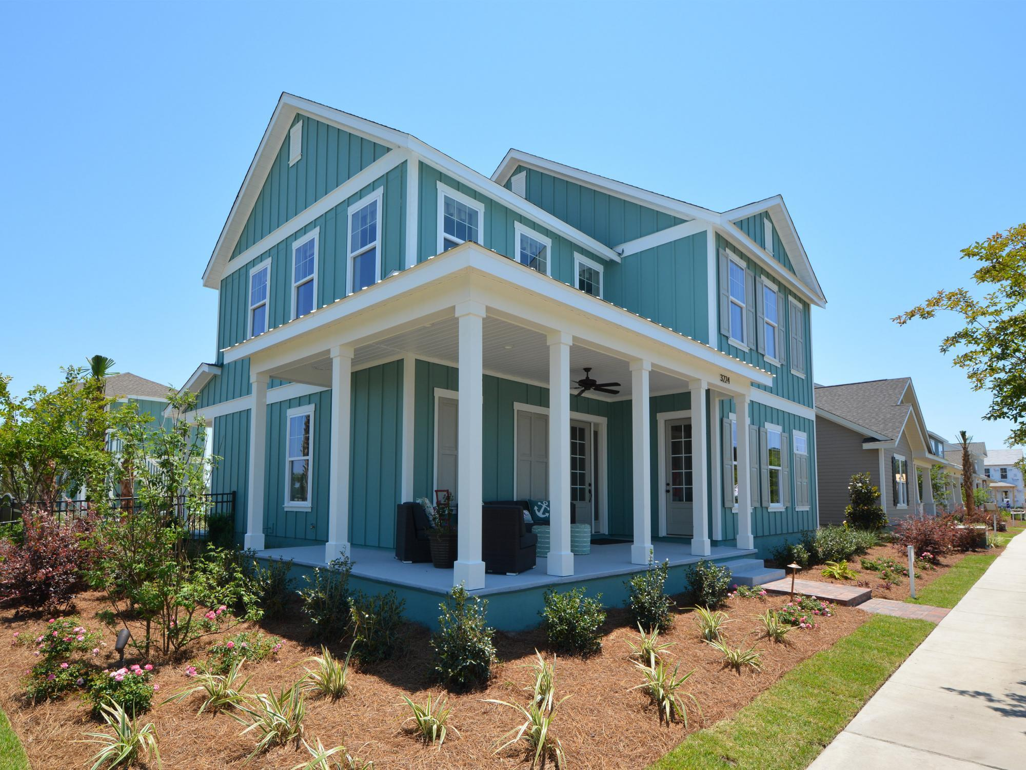 Exterior featured in the St. George By Samuel Taylor Homes in Panama City, FL