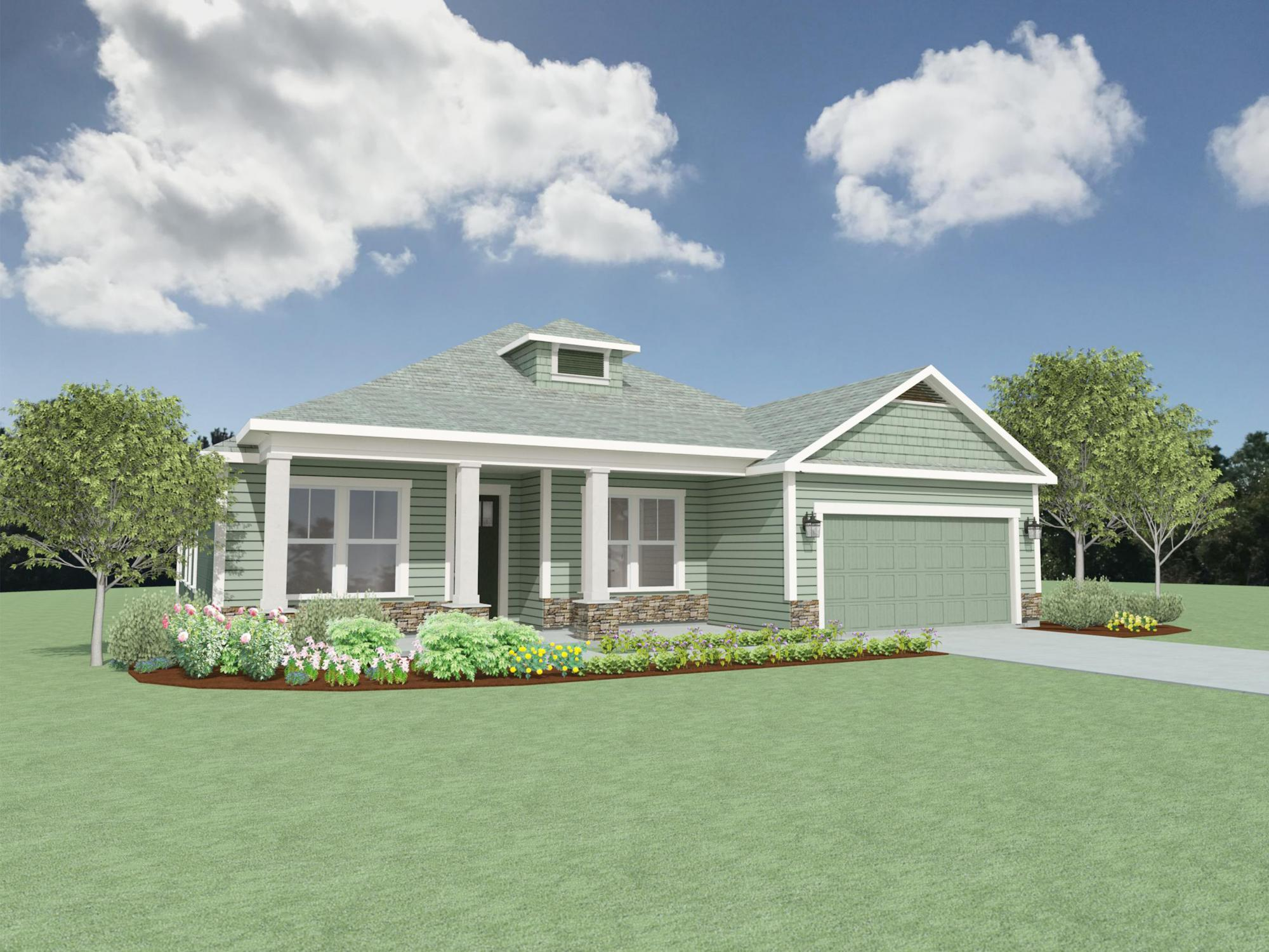 Exterior featured in the Tripletail II By Samuel Taylor Homes in Panama City, FL
