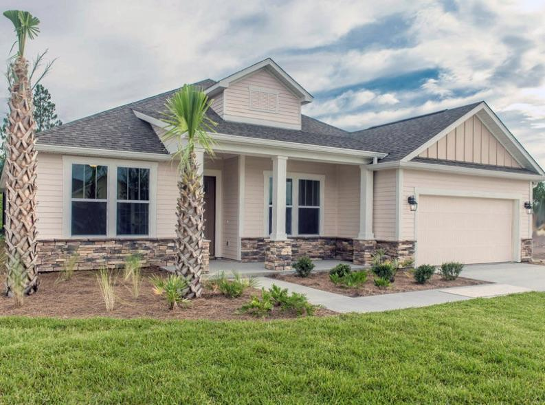 Exterior featured in the Tripletail By Samuel Taylor Homes in Panama City, FL