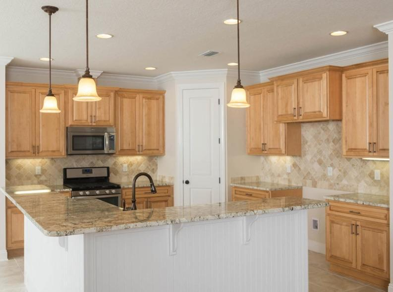 Kitchen featured in the Tripletail II By Samuel Taylor Homes in Panama City, FL