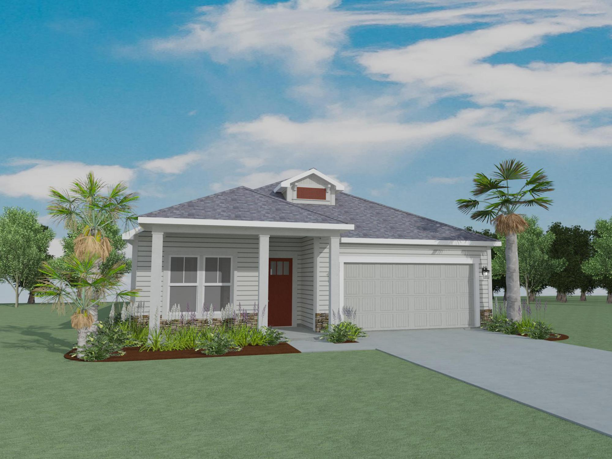 Exterior featured in the Cubera By Samuel Taylor Homes in Panama City, FL
