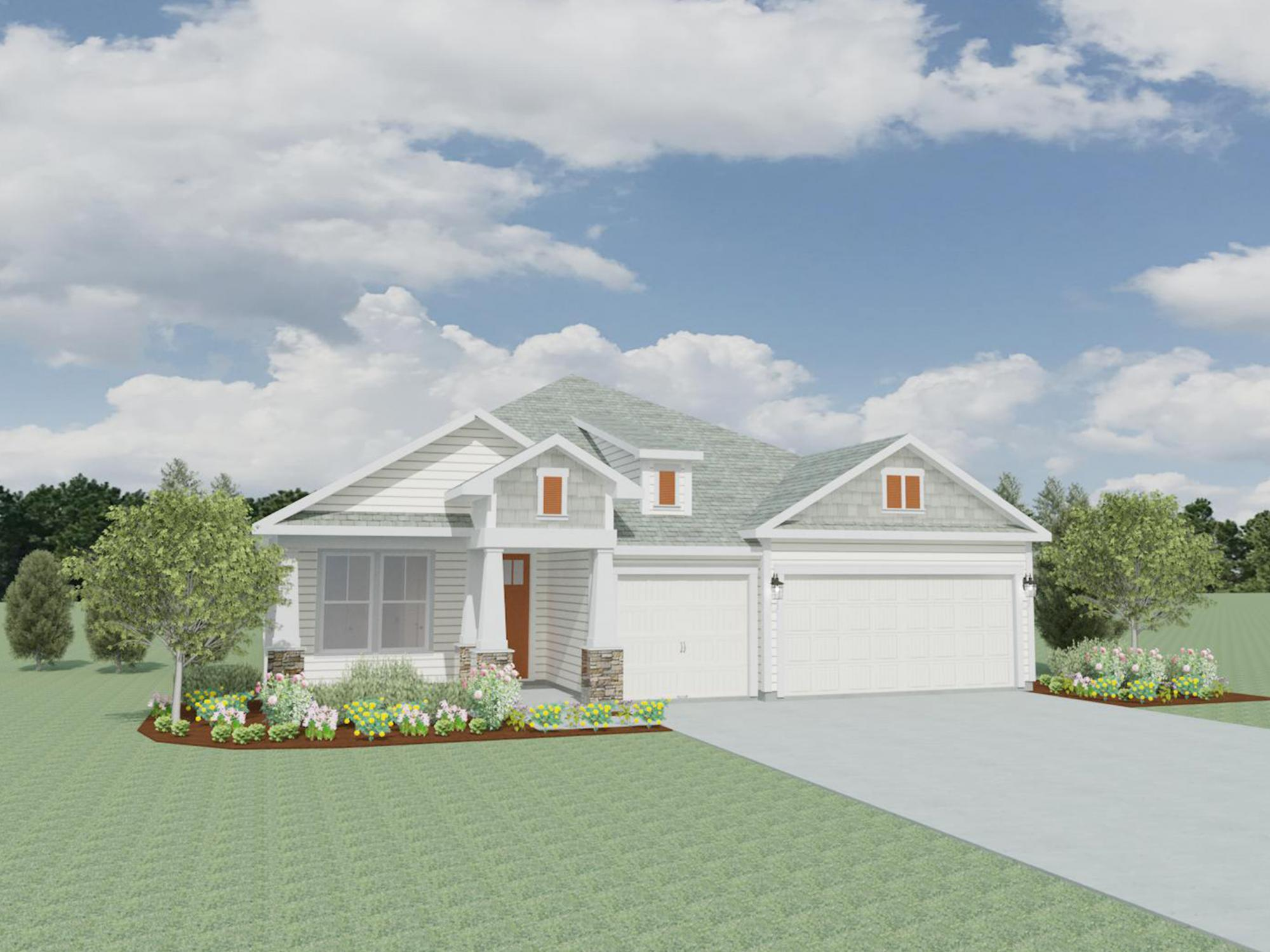Exterior featured in the Clarabelle By Samuel Taylor Homes in Panama City, FL