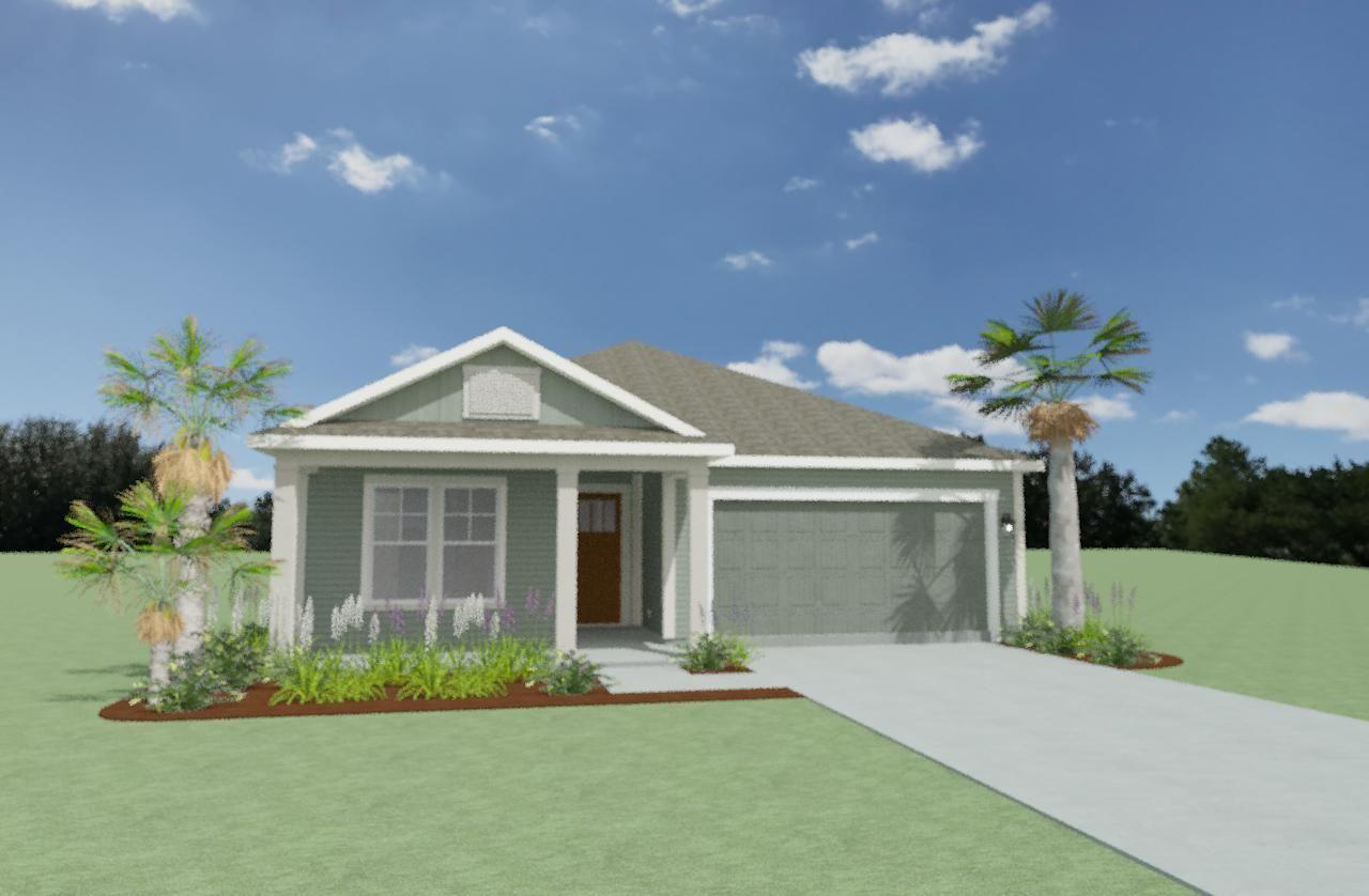 Exterior featured in the Mackerel By Samuel Taylor Homes in Panama City, FL