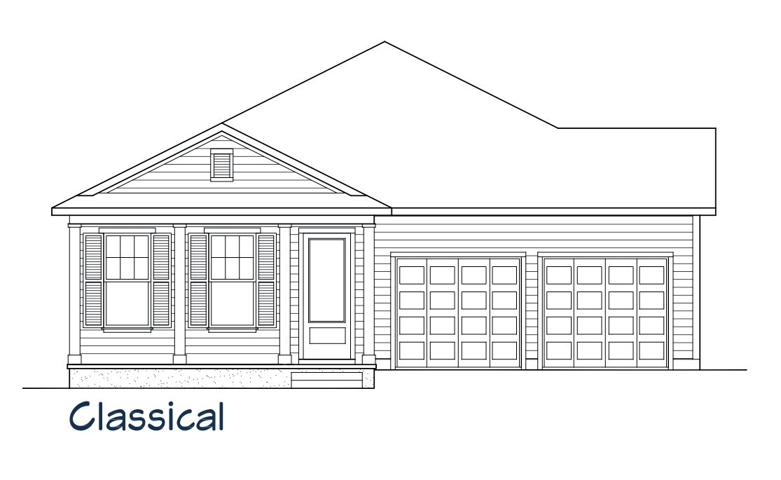 Exterior featured in the Anna Maria By Samuel Taylor Homes in Panama City, FL