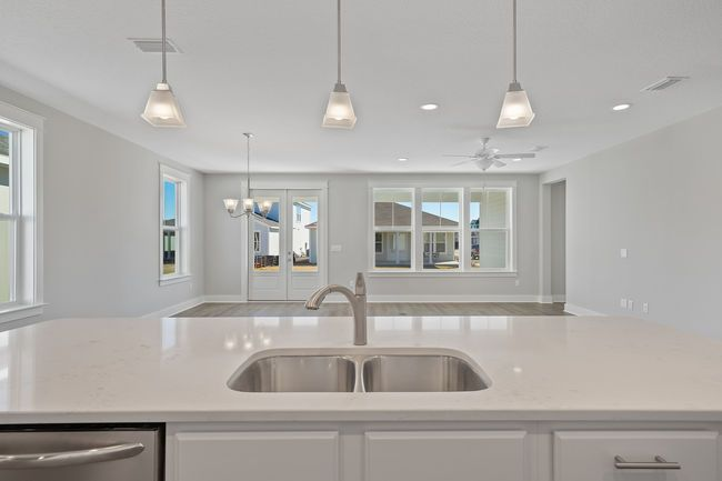Kitchen featured in the Venice By Samuel Taylor Homes in Panama City, FL