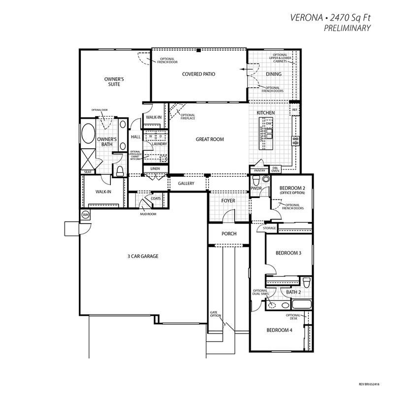 Verona Floor Plan