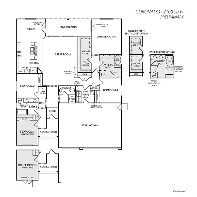 Coronado Floor Plan