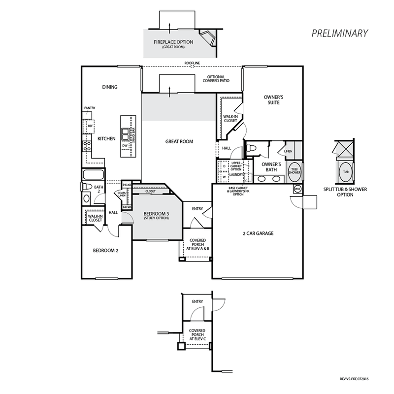 Mariposa Floor Plan