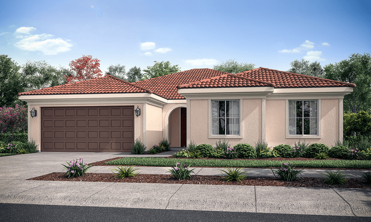 Exterior featured in the Milan By San Joaquin Valley Homes in Visalia, CA