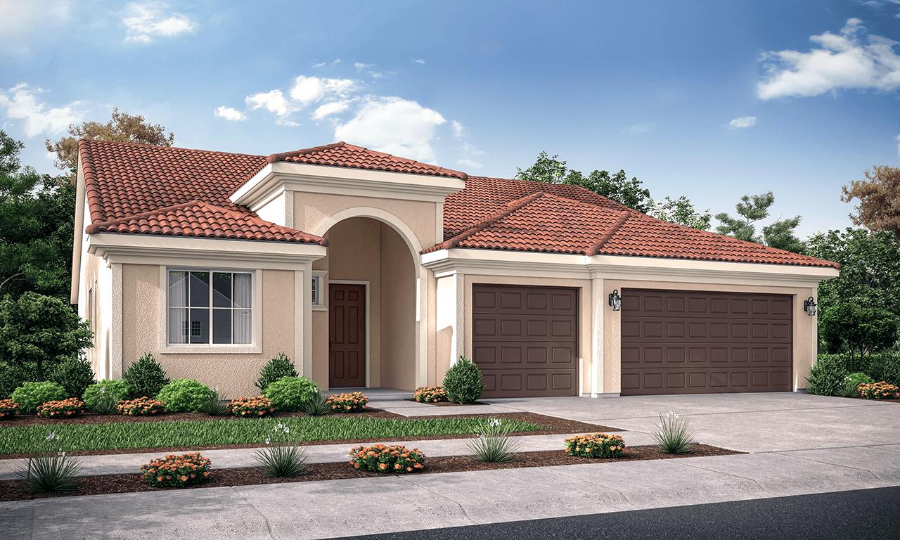 Exterior featured in the Coronado By San Joaquin Valley Homes in Visalia, CA
