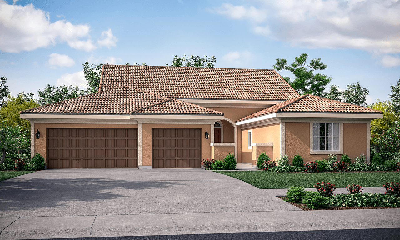Exterior featured in the Verona By San Joaquin Valley Homes in Visalia, CA