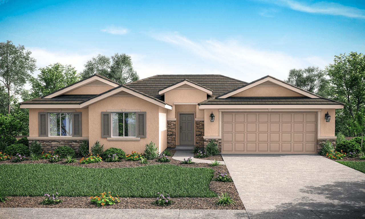 Exterior featured in the Cameron By San Joaquin Valley Homes in Visalia, CA