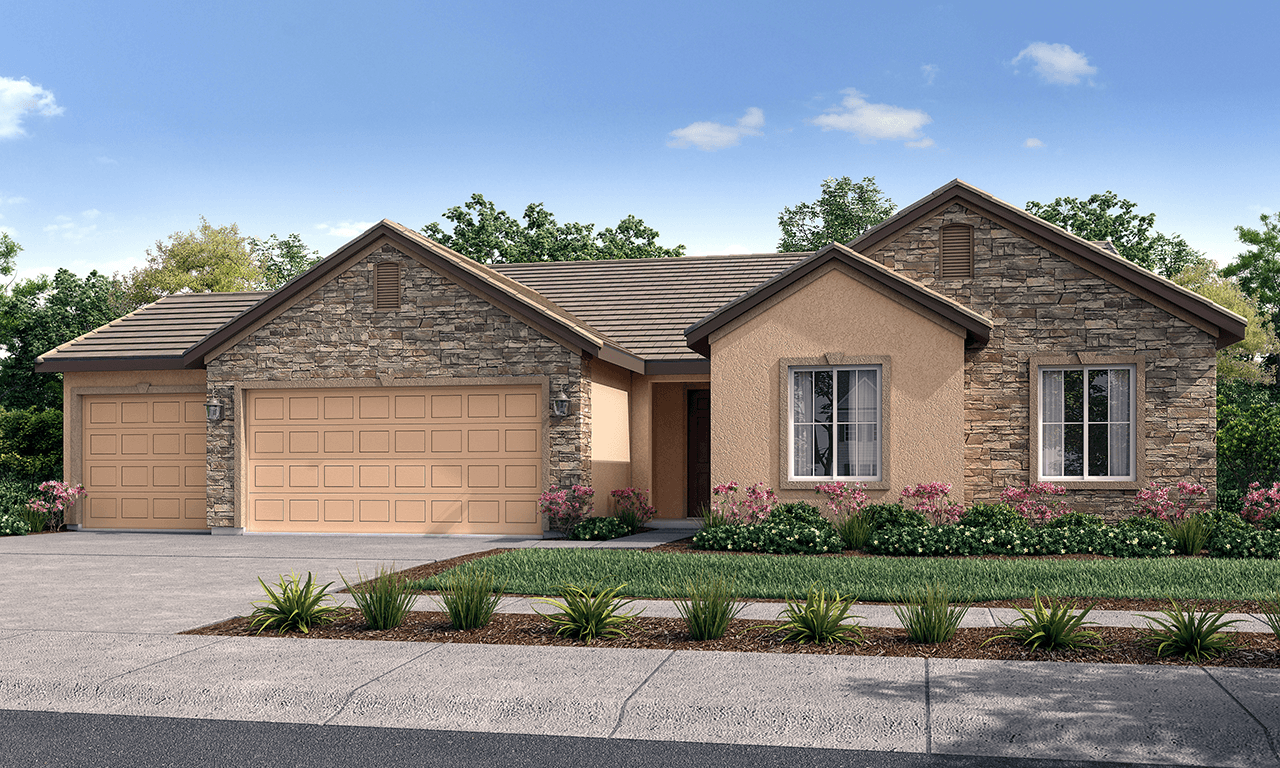 Milan Home Plan By San Joaquin Valley Homes In Greystone