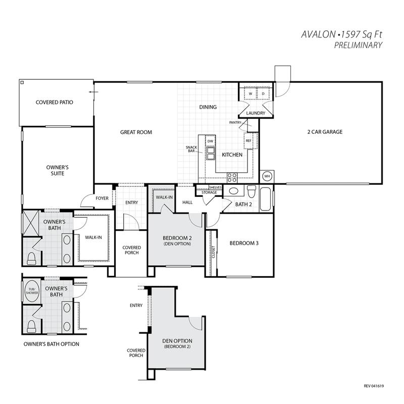 Avalon Floor Plan