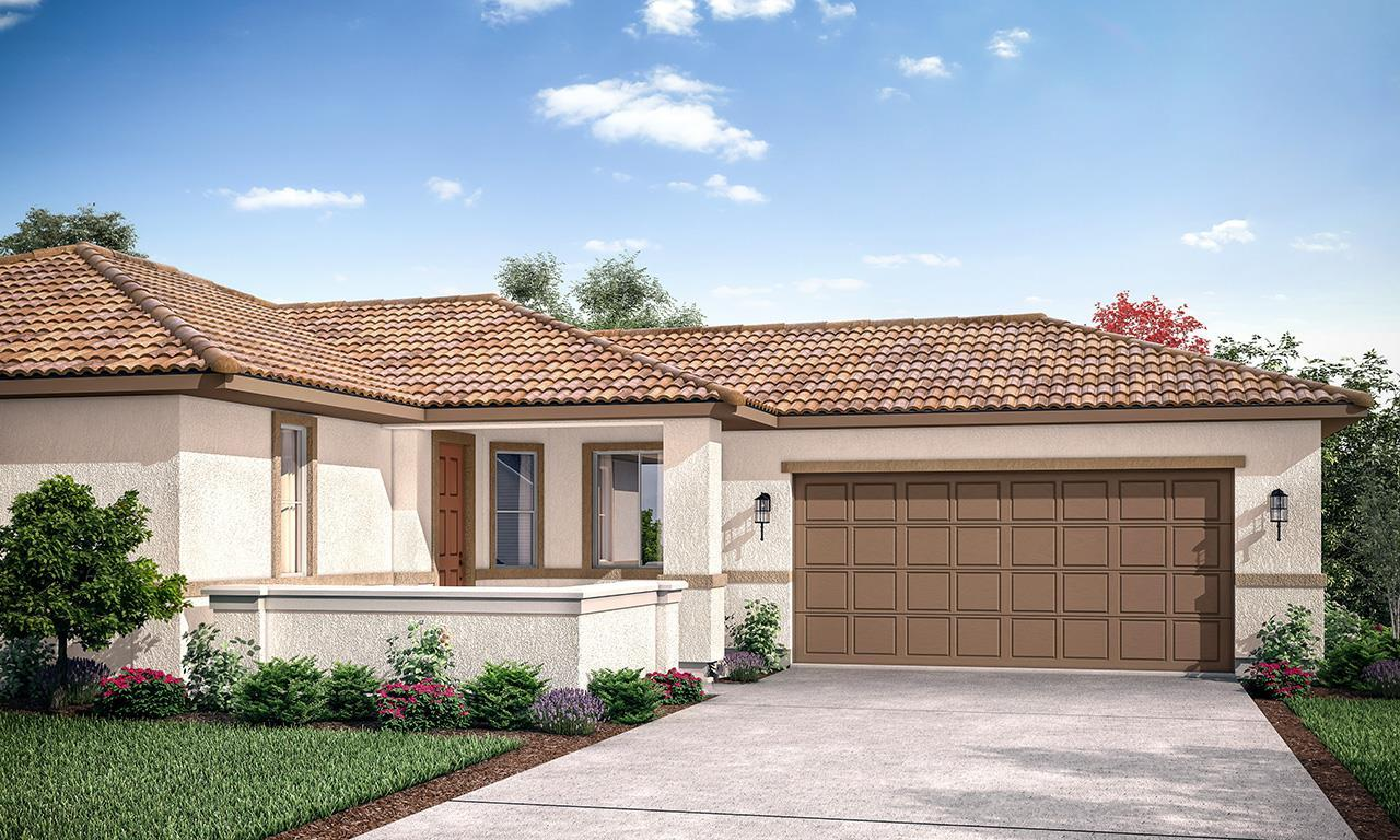 Exterior featured in the Bridgeport By San Joaquin Valley Homes in Visalia, CA