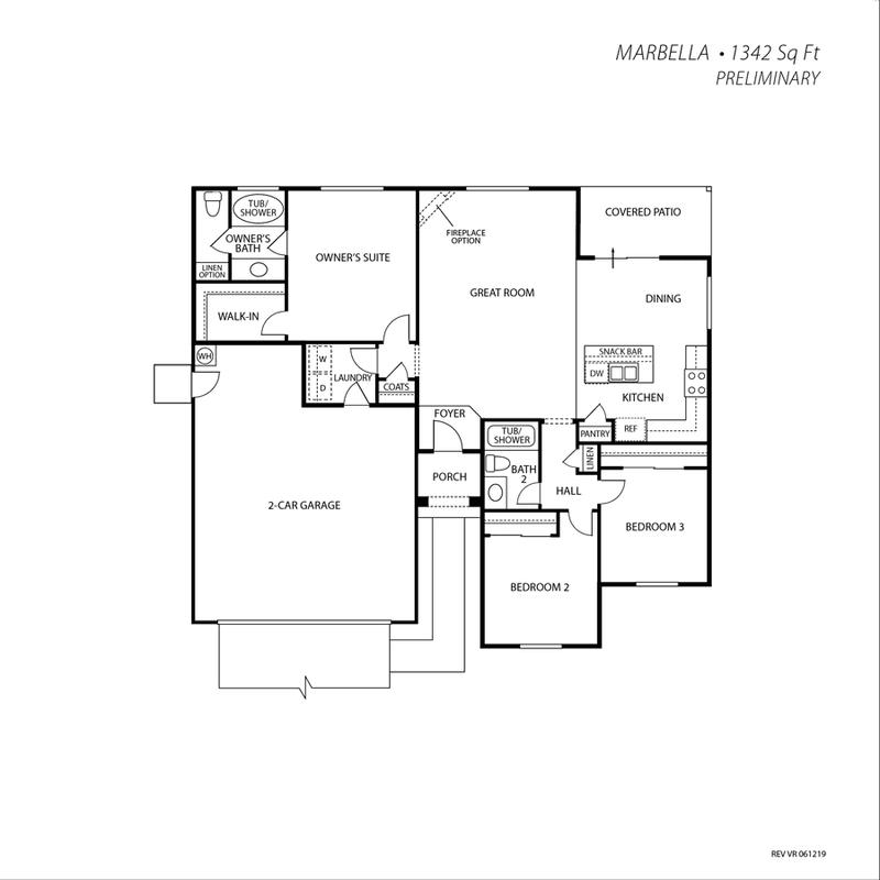 Marbella Floor Plan