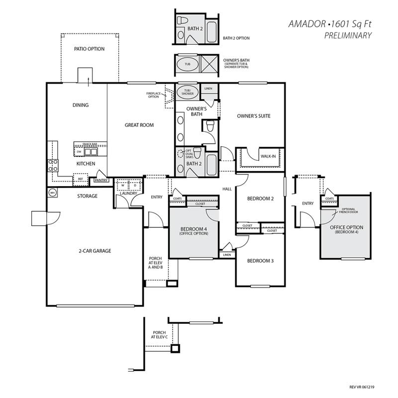 Amador Floor Plan