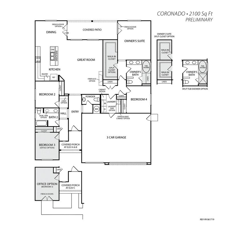 Coronado Home Plan by San Joaquin Valley Homes in Vista Robles