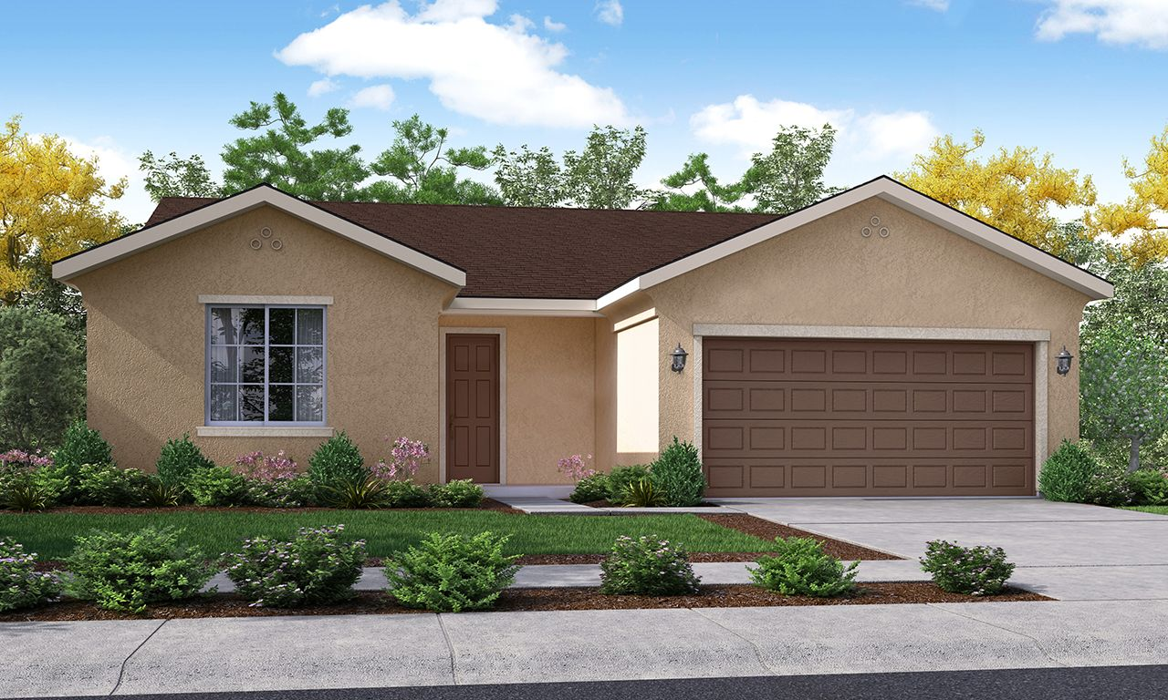 Exterior featured in the Bonita By San Joaquin Valley Homes in Visalia, CA
