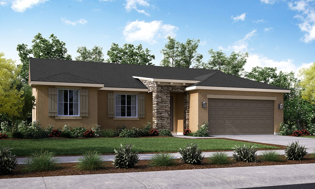 Exterior featured in the Amador By San Joaquin Valley Homes in Visalia, CA