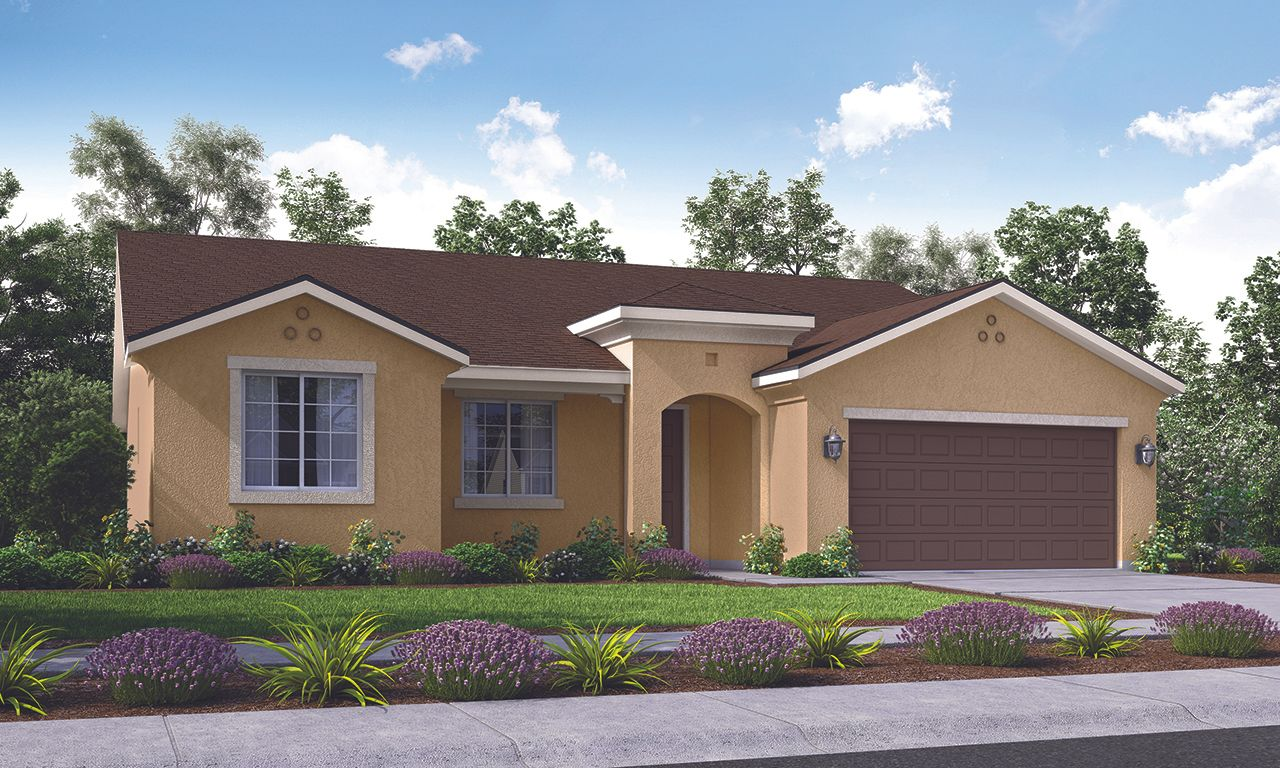 Exterior featured in the Mariposa By San Joaquin Valley Homes in Visalia, CA