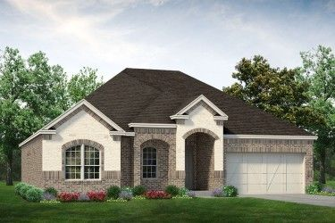 Exterior featured in the Colby By Sandlin Homes  in Fort Worth, TX